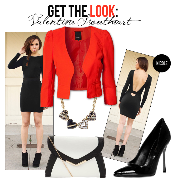 Get The Look: Valentine Sweetheart