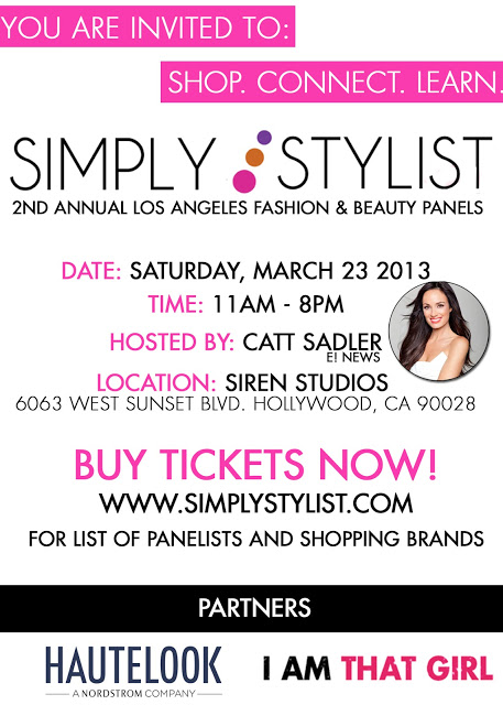 Simply Stylist LA: 2nd Annual Fashion & Beauty Panels