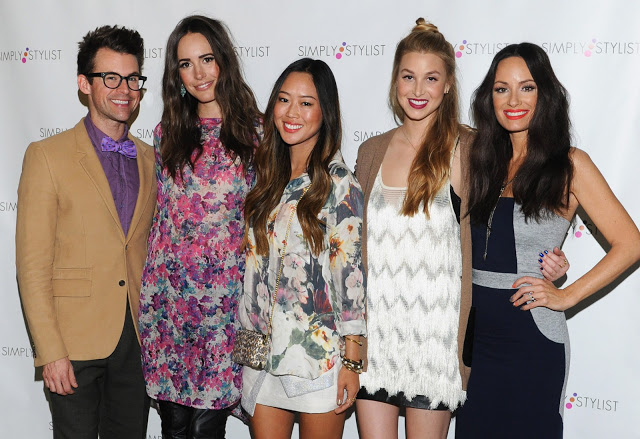 Brad Goreski, Louise Roe, Aimee Song, Whitney Port, Catt SadlerPhoto Credit: Vivien Killilea