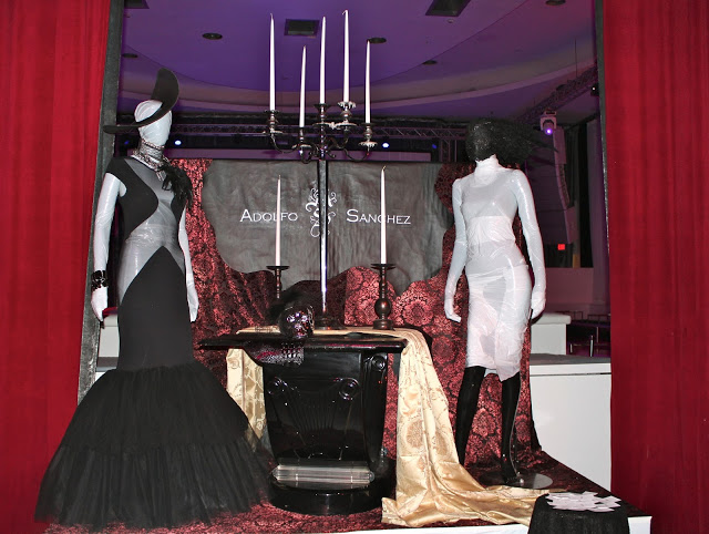 Adolfo Sanchez Fashion Installation | Photo by: Kisatchy Owens